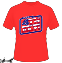 new t-shirt Happy 4th of July