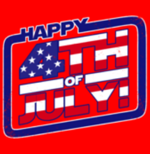 magliette t-sharks.com - Happy 4th of July