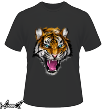 new t-shirt Ferocious Tiger