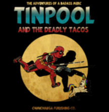 magliette t-sharks.com - TINPOOL AND THE DEADLY TACOS
