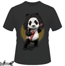 new t-shirt PANDA ROCKER 2017