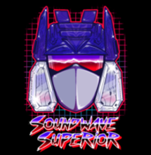 magliette t-sharks.com - Sound Wave Superior