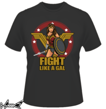 new t-shirt Fight like a Gal