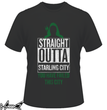 t-shirt Straight Outta Starling City online