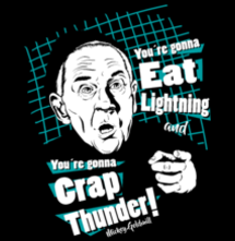 magliette t-sharks.com - eat lightning, and crap thunder - Mickey