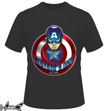 new t-shirt CAPTAIN'S GYM