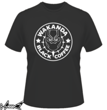 t-shirt Wakanda Black Coffee online