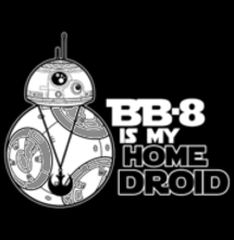 magliette t-sharks.com - BB-8 is my Homedroid