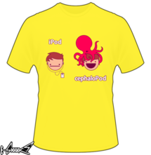 t-shirt iPod <<< cephaloPod online