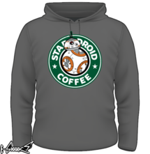 new t-shirt Stardroid Coffee