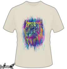 new t-shirt Synthetic Tiger