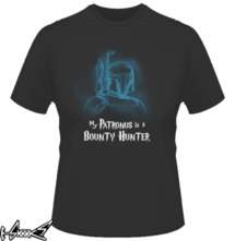 new t-shirt My Patronus is a bounty hunter