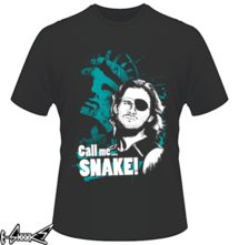 new t-shirt #Snake #Plissken