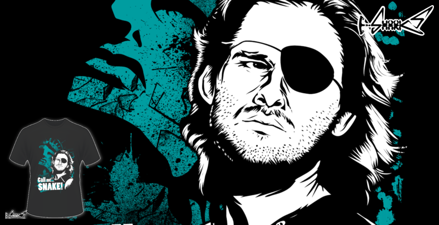 Snake Plissken T-shirts - Designed by: MeFO