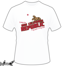 t-shirt Greetings from New California Republic online