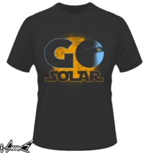 new t-shirt Go Solar