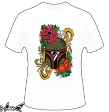 new t-shirt Boba Flower