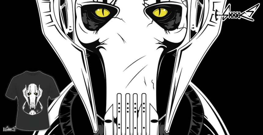 General Grievous T-shirts - Designed by: Chesterika