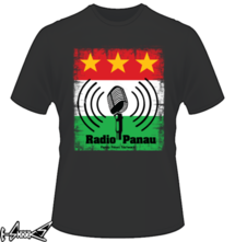new t-shirt Radio Panau