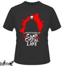 t-shirt A nightmare on camp crystal lake online