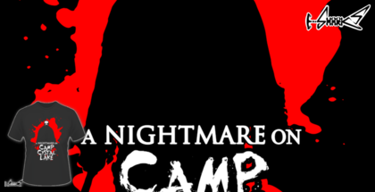 magliette - A nightmare on camp crystal lake - A nightmare on camp crystal lake