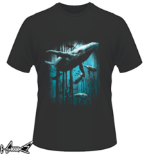 new t-shirt Whale Forest