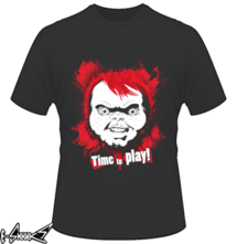 t-shirt #Chucky. Time to #Play online