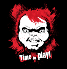 magliette t-sharks.com - Chucky. Time to Play