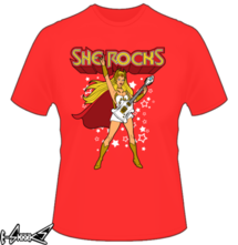 t-shirt She Rocks online