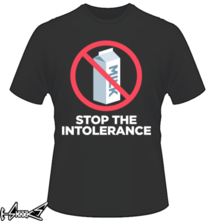 new t-shirt #Stop the #Intolerance
